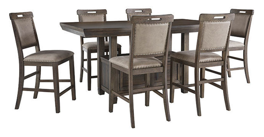 Picture of Johurst 7 Pc Counter Dining Set