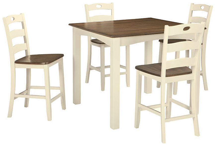 Picture of Woodanville 5 Pc Counter High Table Set