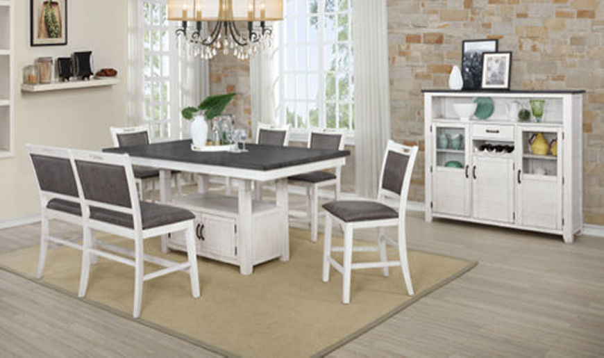 Picture of Aldo 5 Pc Dining Set White