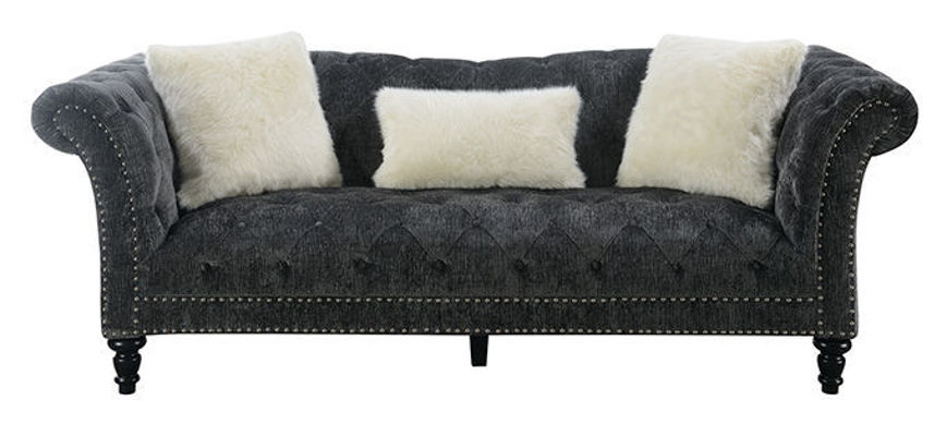 Picture of Bliss Charcoal Sofa