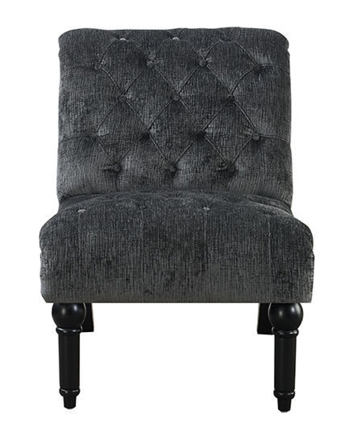 Picture of Bliss Charcoal Armless Chair
