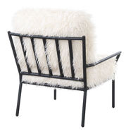 Picture of Faux Fur Accent Chair