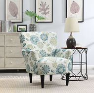 Picture of Teal Accent Chair