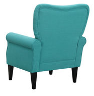 Picture of Teal Blue Accent Chair