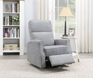 Picture of Grey Swivel Glider Recliner