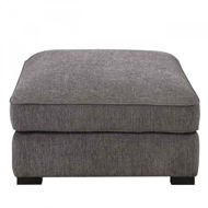 Picture of Repose Charcoal Ottoman