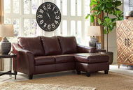 Picture of Fortney Mahogany Sofa Chaise