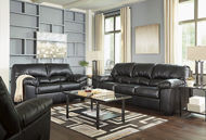 Picture of Brazoria Black Sofa & Love