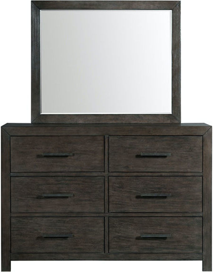 Picture of Shelby Brown Dresser Mirror