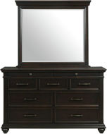 Picture of Slater Black Dresser / Mirror