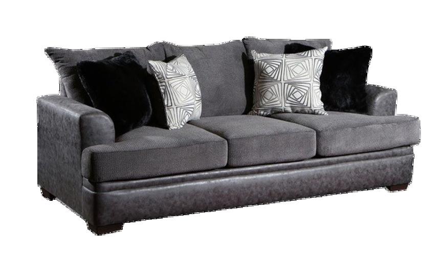 Picture of Akan Graphite Sofa