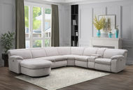 Picture of Brook Dove 6 PC Sectional